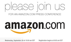 AMAZON TABLET EVENT