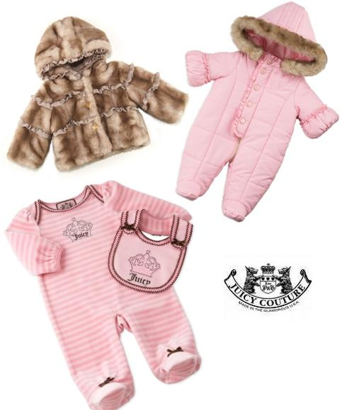 ropa de bebe juicy couture